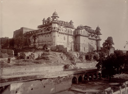 Old Palace in Bharatpur Fort 3722